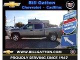 2013 Graystone Metallic Chevrolet Silverado 1500 LT Crew Cab 4x4 #72470381