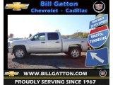 2013 Silver Ice Metallic Chevrolet Silverado 1500 LT Crew Cab 4x4 #72470378