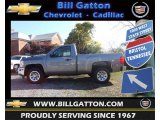2013 Graystone Metallic Chevrolet Silverado 1500 LS Regular Cab #72470375