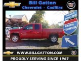 2013 Victory Red Chevrolet Silverado 1500 LT Extended Cab 4x4 #72470374