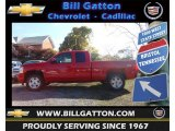 2013 Victory Red Chevrolet Silverado 1500 LT Extended Cab 4x4 #72470373