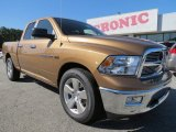 2012 Saddle Brown Pearl Dodge Ram 1500 Big Horn Quad Cab #72470075