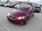 2008 Matador Red Mica Lexus IS 250 #72470150