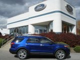 2013 Deep Impact Blue Metallic Ford Explorer Limited 4WD #72469841