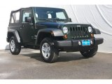 2011 Natural Green Pearl Jeep Wrangler Sport 4x4 #72470053