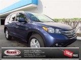 2013 Twilight Blue Metallic Honda CR-V EX-L AWD #72469736