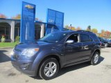 2013 Atlantis Blue Metallic Chevrolet Equinox LT AWD #72469922