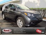 2013 Polished Metal Metallic Honda CR-V EX-L AWD #72469735