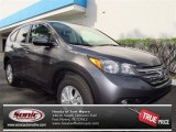 2012 Polished Metal Metallic Honda CR-V EX #72469731