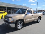 2000 Sunset Gold Metallic Chevrolet Silverado 1500 Z71 Regular Cab 4x4 #72470427