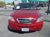 2009 Spicy Red Kia Sorento LX #72469890