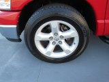 2008 Dodge Ram 1500 Lone Star Edition Quad Cab Wheel