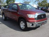 2007 Salsa Red Pearl Toyota Tundra SR5 TRD Double Cab 4x4 #72469790