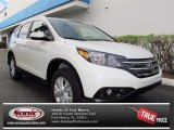 2013 White Diamond Pearl Honda CR-V EX-L AWD #72521963