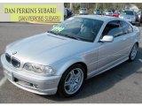 2001 Titanium Silver Metallic BMW 3 Series 330i Coupe #72521900