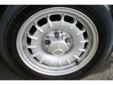 Mercedes-Benz S Class 1984 Wheels and Tires