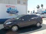2013 Violet Gray Ford Fiesta SE Sedan #72521999
