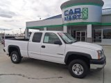 2003 Summit White Chevrolet Silverado 2500HD LS Extended Cab #72522175