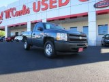 2009 Blue Granite Metallic Chevrolet Silverado 1500 Regular Cab #72522016