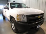 2011 Summit White Chevrolet Silverado 1500 Regular Cab 4x4 #72544797