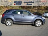 2013 Atlantis Blue Metallic Chevrolet Equinox LS #72551371