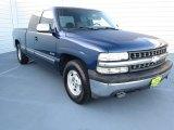 1999 Indigo Blue Metallic Chevrolet Silverado 1500 LS Extended Cab #72551456
