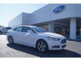 2013 White Platinum Metallic Tri-coat Ford Fusion SE 1.6 EcoBoost #72551363