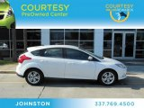 2012 Oxford White Ford Focus SEL 5-Door #72551264
