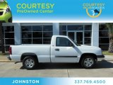2003 Summit White Chevrolet Silverado 1500 Regular Cab #72551260