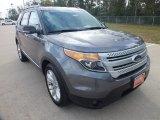 2013 Sterling Gray Metallic Ford Explorer XLT #72551800