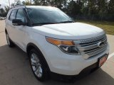 2013 White Platinum Tri-Coat Ford Explorer XLT #72551796