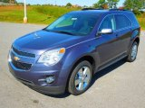 2013 Atlantis Blue Metallic Chevrolet Equinox LT #72551613