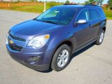 2013 Atlantis Blue Metallic Chevrolet Equinox LT #72551611