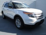 2013 White Platinum Tri-Coat Ford Explorer XLT EcoBoost #72551435