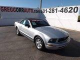 2007 Satin Silver Metallic Ford Mustang V6 Premium Convertible #72551506