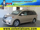 2011 Sandy Beach Metallic Toyota Sienna LE #72551779