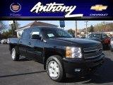 2013 Black Chevrolet Silverado 1500 LT Crew Cab 4x4 #72551771