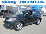 2009 Crystal Black Pearl Honda CR-V LX 4WD #72551192