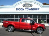 2013 Ruby Red Metallic Ford F150 XLT SuperCab 4x4 #72551394