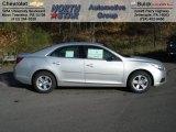 2013 Silver Ice Metallic Chevrolet Malibu LS #72551388