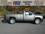 2013 Mocha Steel Metallic Chevrolet Silverado 1500 Work Truck Regular Cab 4x4 #72551384