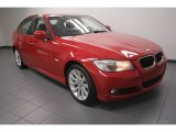 2011 Vermillion Red Metallic BMW 3 Series 328i Sedan #72597880