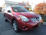 2012 Cayenne Red Nissan Rogue S AWD #72597658