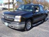 2005 Black Chevrolet Silverado 1500 LS Crew Cab #72597444