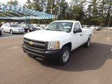 2013 Summit White Chevrolet Silverado 1500 Work Truck Regular Cab #72597980