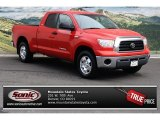 2007 Radiant Red Toyota Tundra SR5 Double Cab 4x4 #72597423