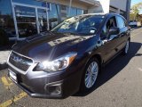 2012 Dark Gray Metallic Subaru Impreza 2.0i Premium 5 Door #72597960