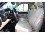 2010 Chevrolet Silverado 1500 LT Regular Cab Light Cashmere/Ebony Interior
