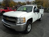 2011 Chevrolet Silverado 2500HD Regular Cab 4x4 Chassis Data, Info and Specs