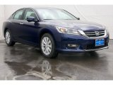 2013 Obsidian Blue Pearl Honda Accord EX Sedan #72597724